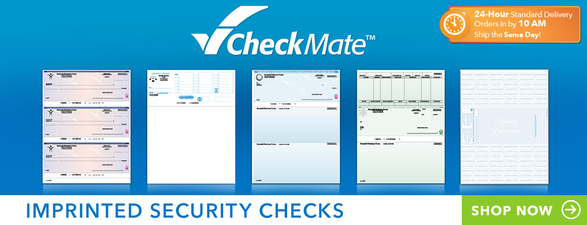 CheckMate Imprinted Checks